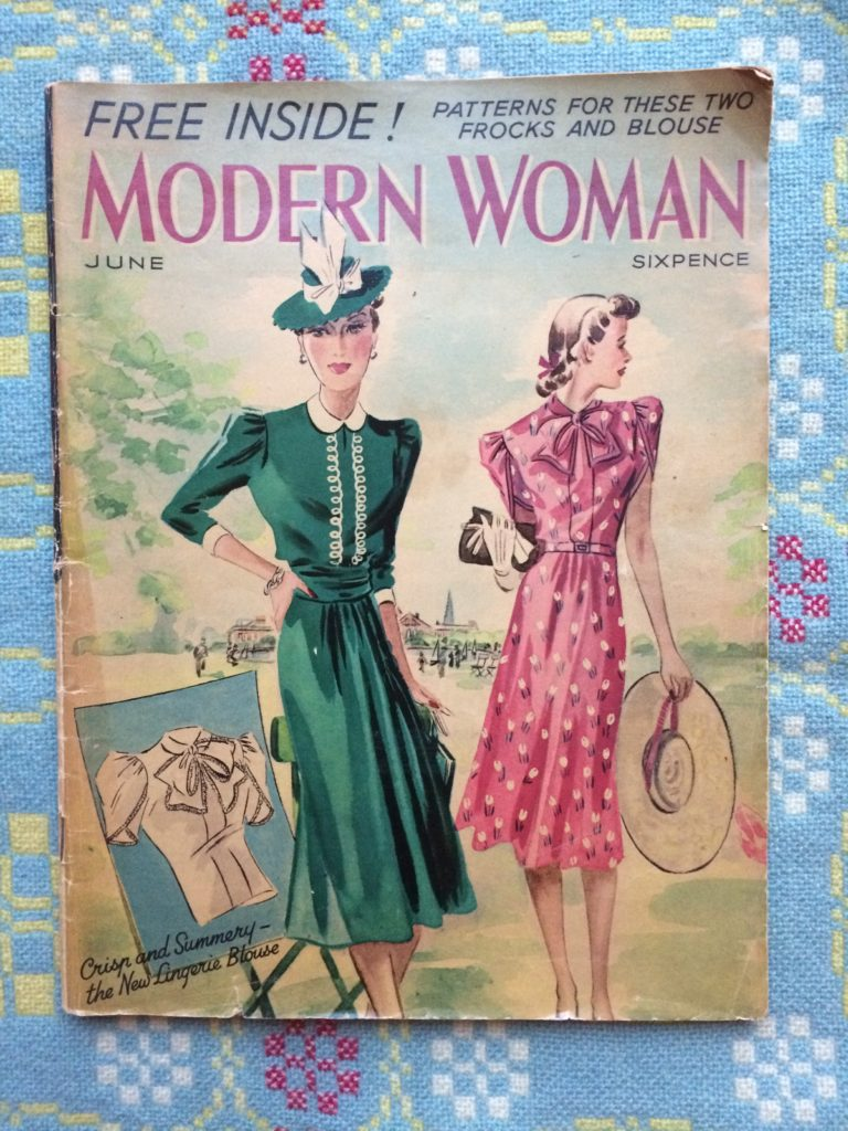Vintage 1930s Modern Woman Magazine cover