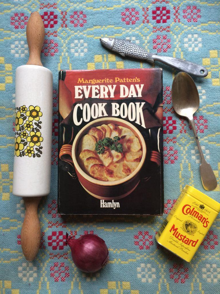 Photo of vintage cookbook Marguerite Pattern's Everyday cookbook