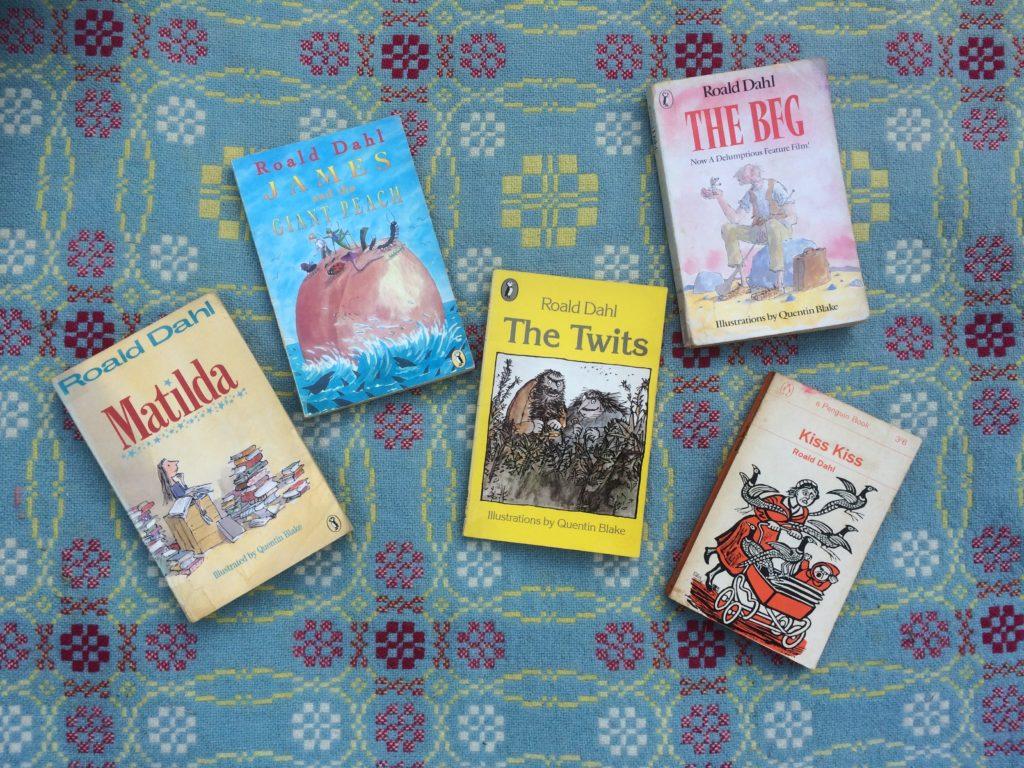 Five Roald Dahl Books