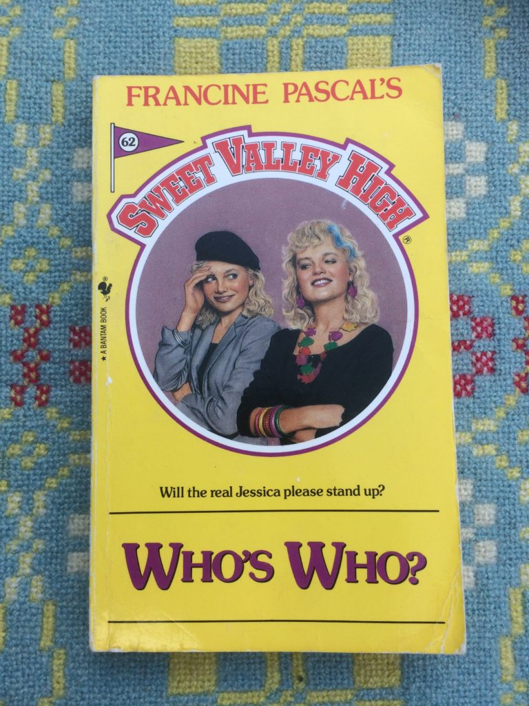 Sweet Valley High Novel Who's Who
