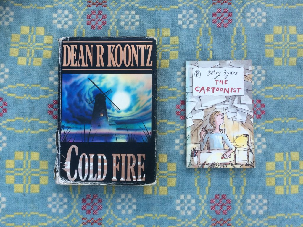 One Dean Koontz Book, One Betsy Byars Book