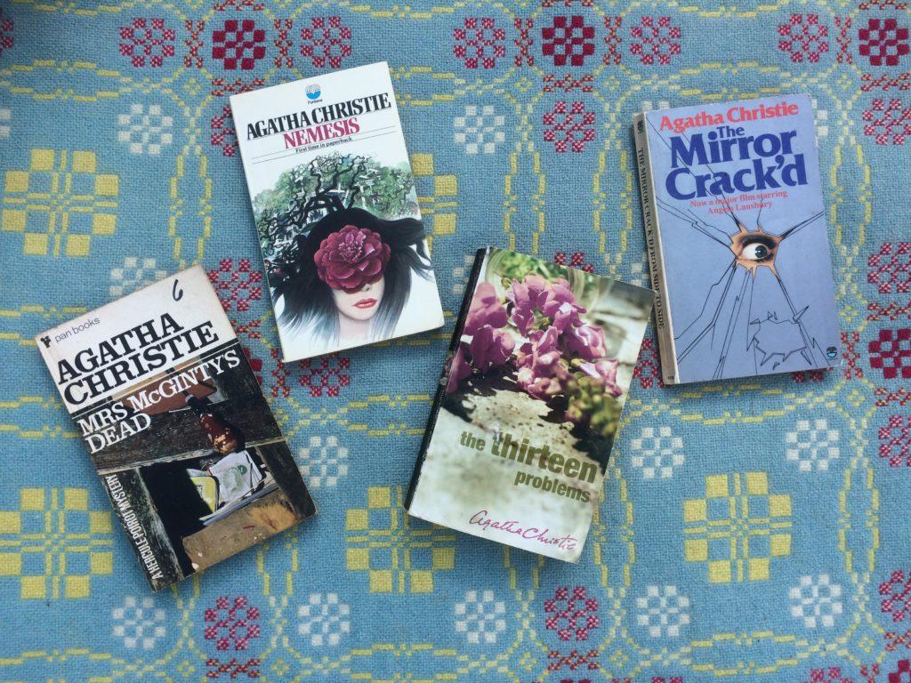 Four Agatha Christie Books