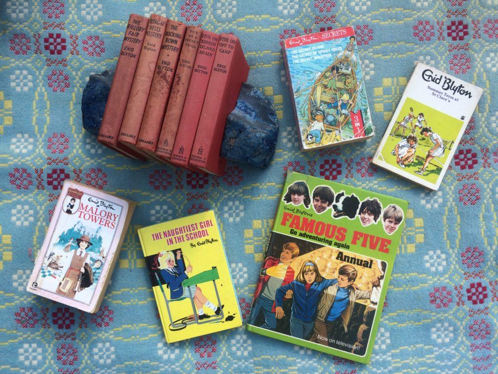 Photo of Eleven Enid Blyton Books